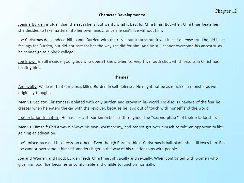 Character Developments: