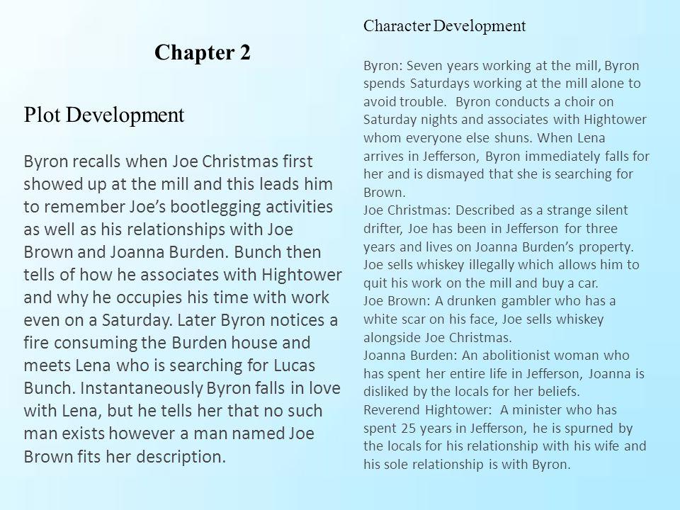 Chapter 2 Plot Development