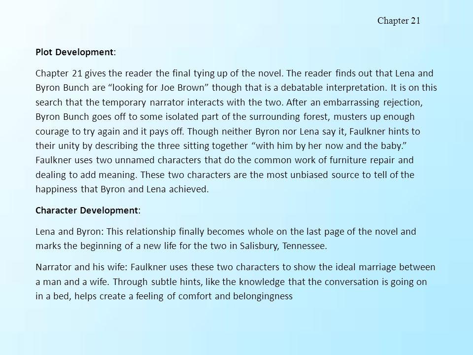 Character Development: