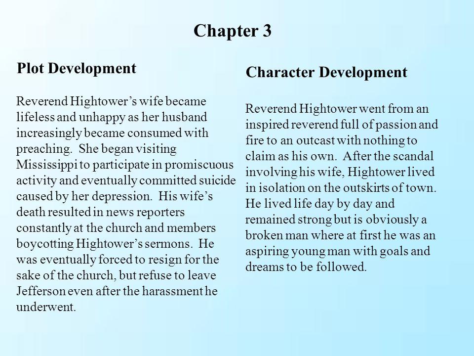 Chapter 3 Plot Development Character Development