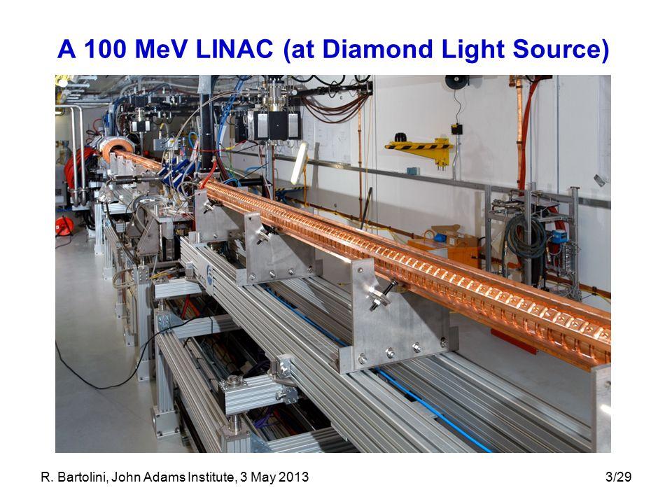A 100 MeV LINAC (at Diamond Light Source)