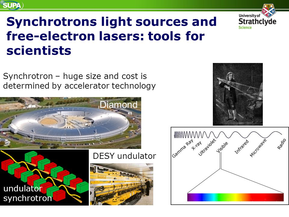 Synchrotrons light sources and free-electron lasers: tools for scientists