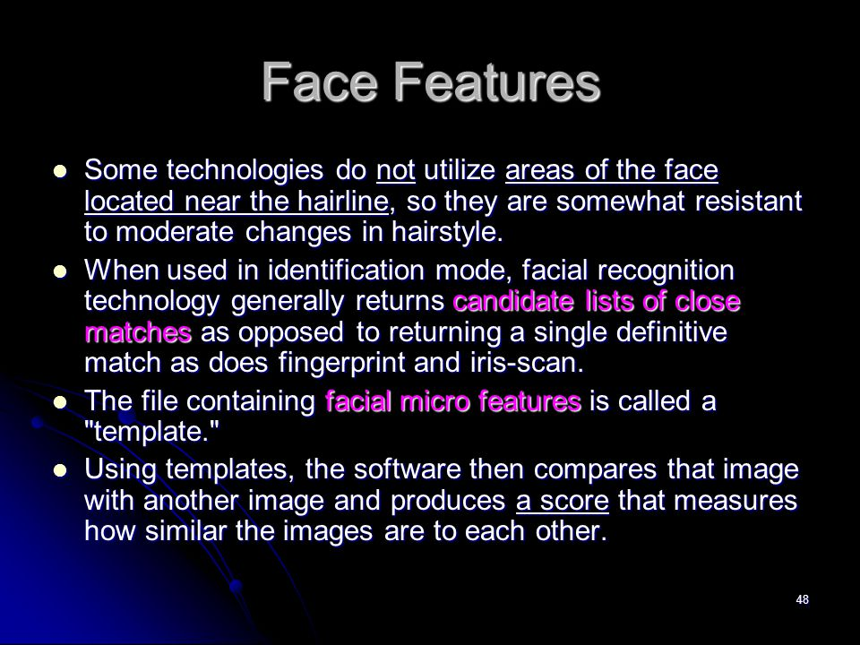 Face Features