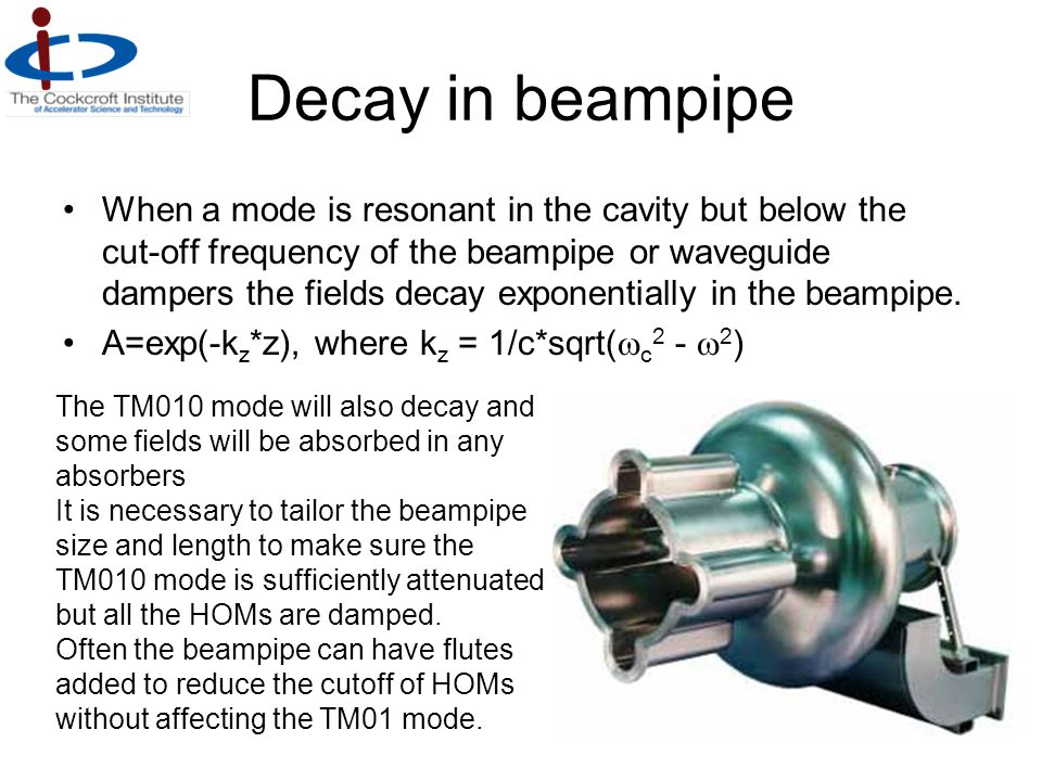 Decay in beampipe