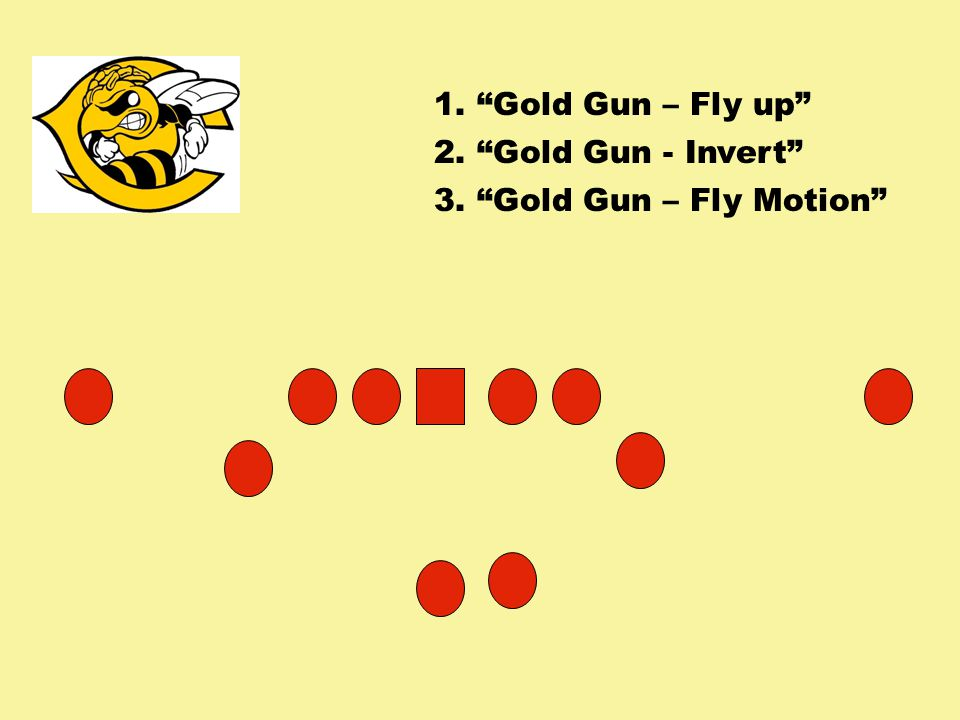 1. Gold Gun – Fly up 2. Gold Gun - Invert 3. Gold Gun – Fly Motion
