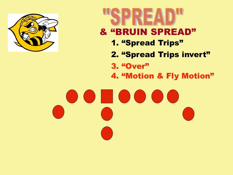 SPREAD & BRUIN SPREAD 1. Spread Trips 2. Spread Trips invert