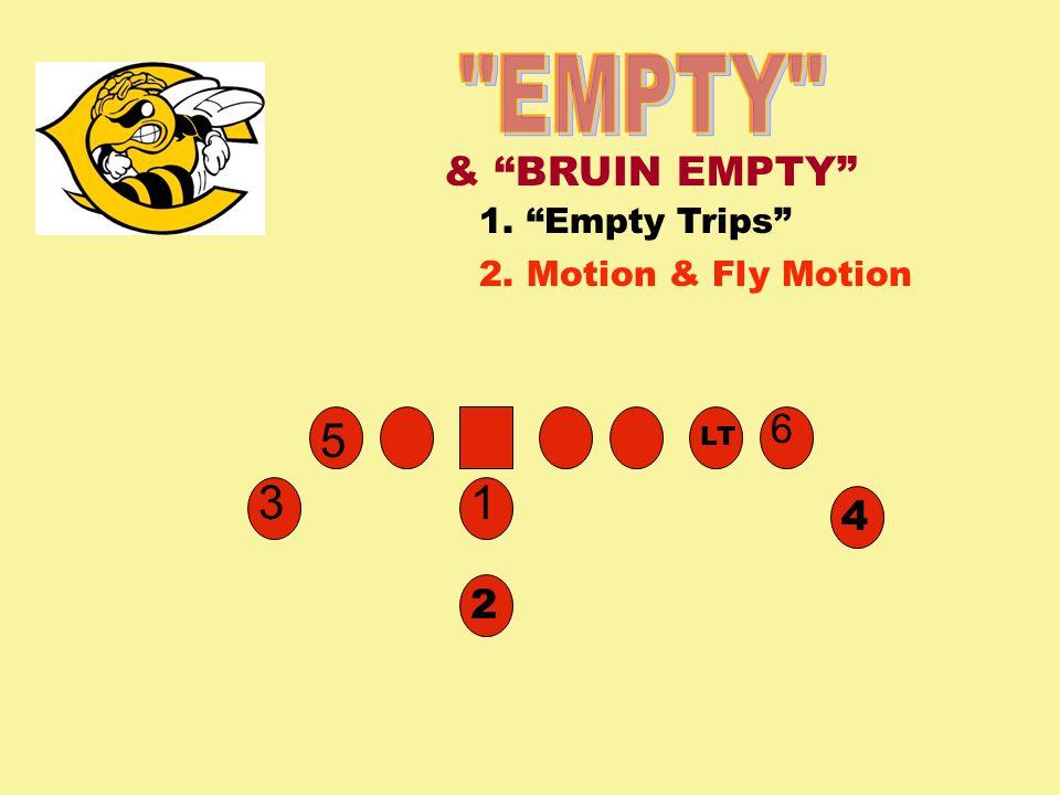 EMPTY 5 3 1 & BRUIN EMPTY 6 4 2 1. Empty Trips