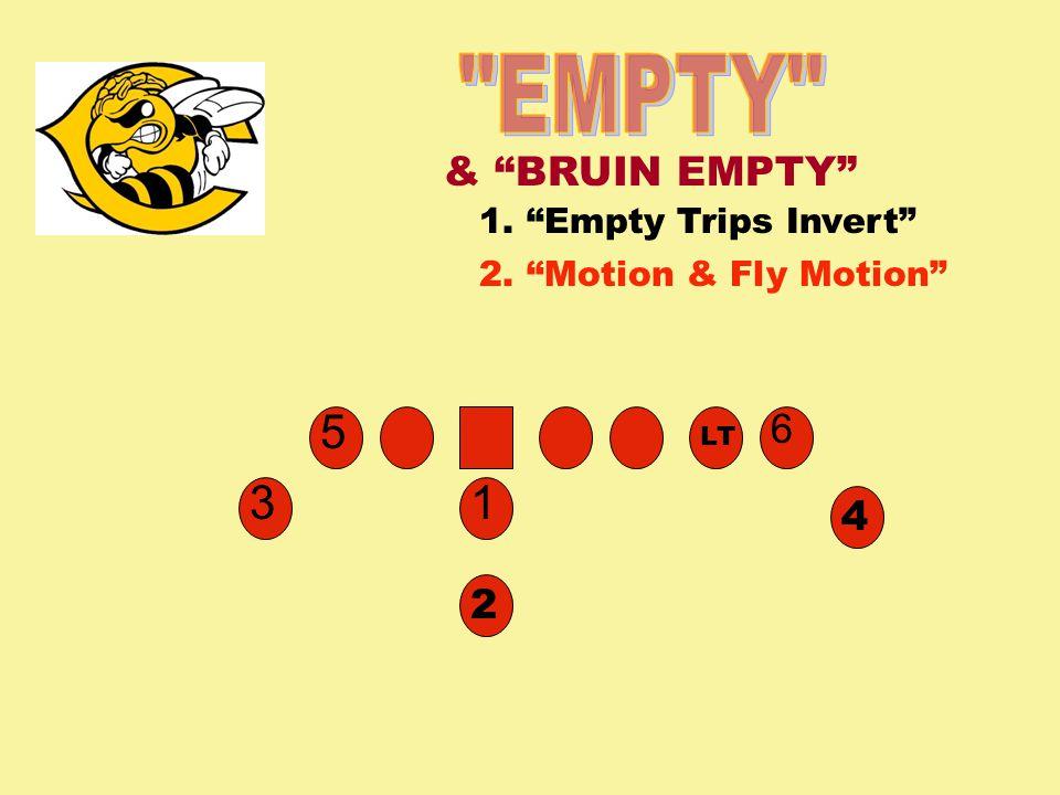 EMPTY 5 3 1 & BRUIN EMPTY 6 4 2 1. Empty Trips Invert