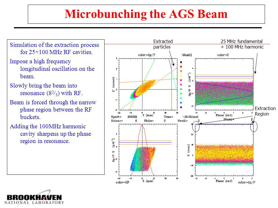 Microbunching the AGS Beam