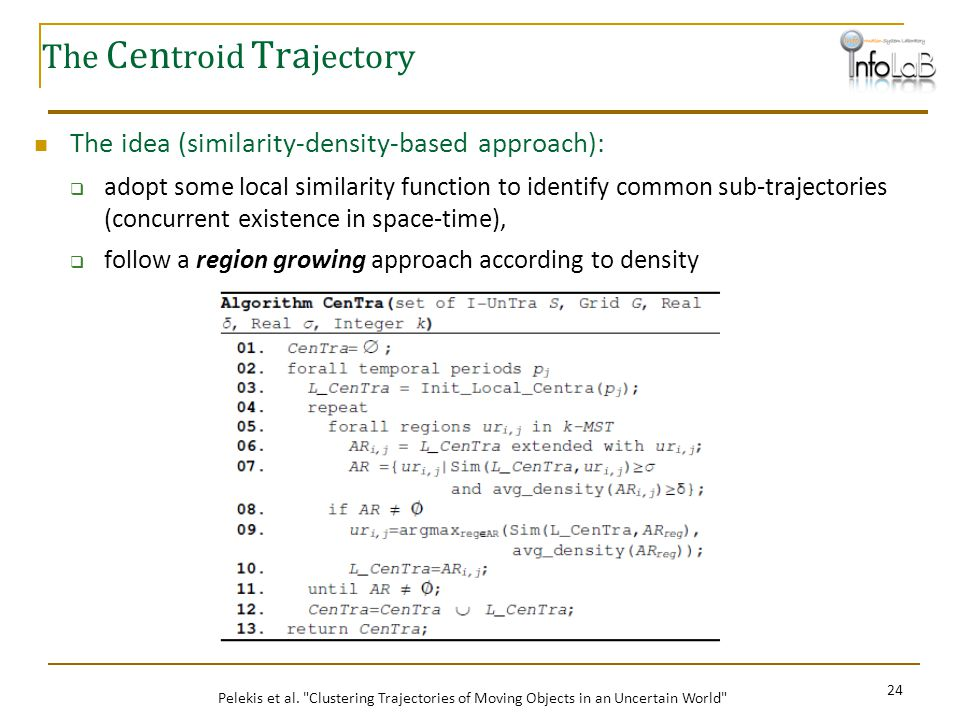 The Centroid Trajectory