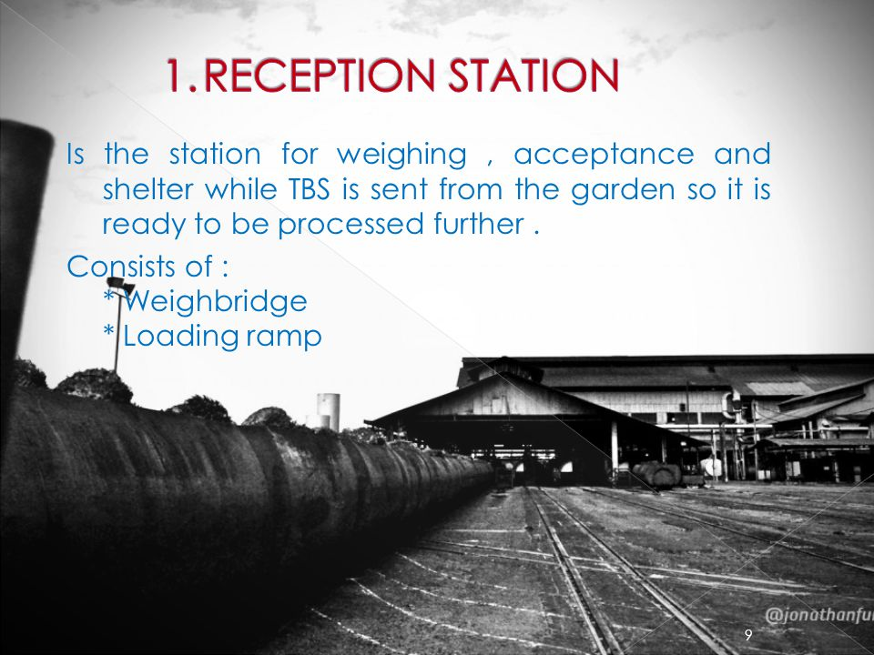 1. RECEPTION STATION