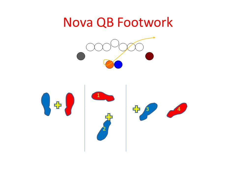 Nova QB Footwork 2 1 3 4
