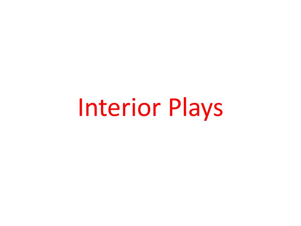 Interior Plays