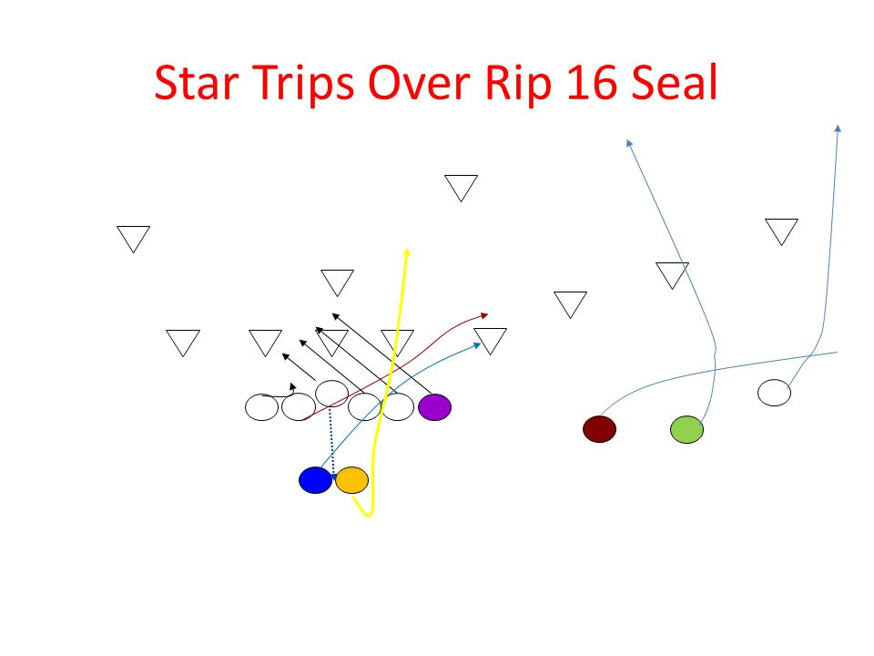 Star Trips Over Rip 16 Seal