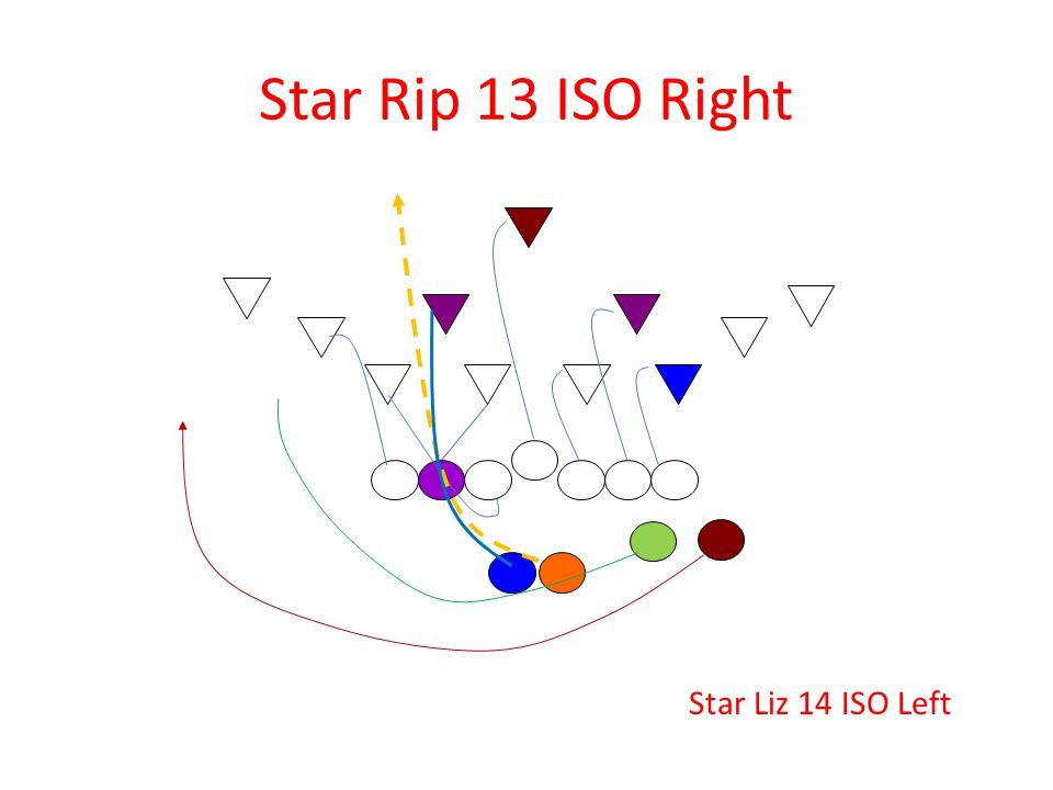 Star Rip 13 ISO Right Star Liz 14 ISO Left