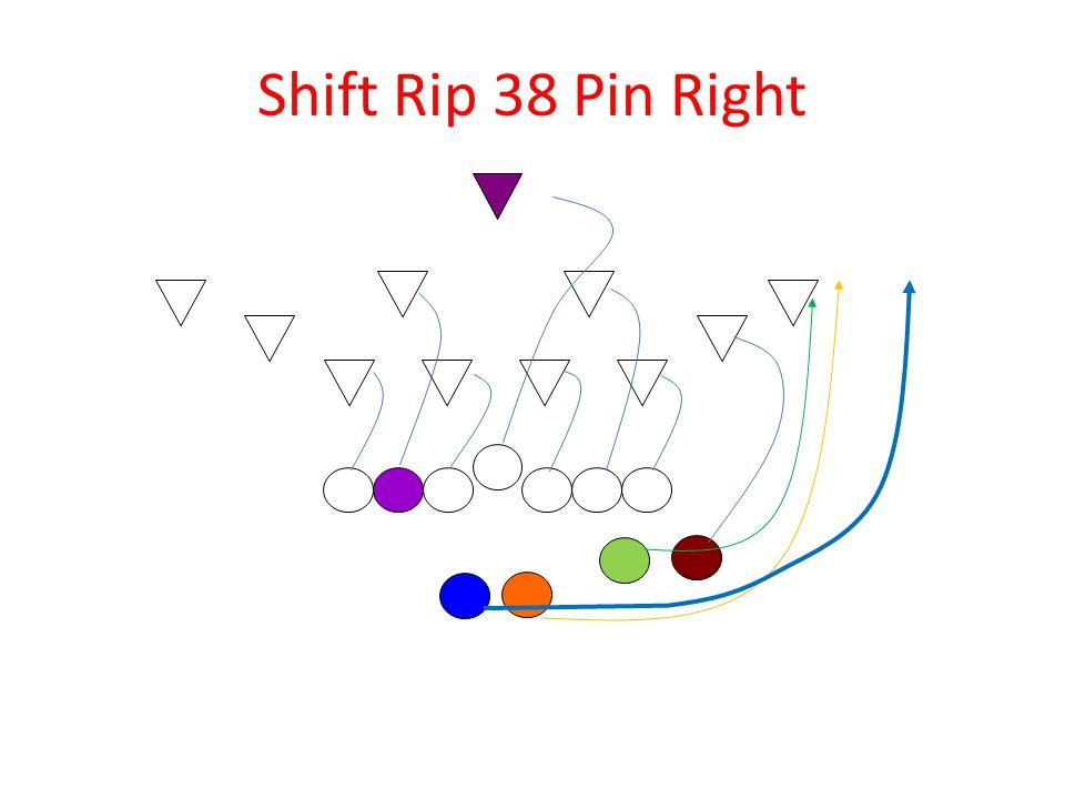 Shift Rip 38 Pin Right