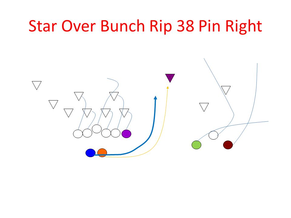 Star Over Bunch Rip 38 Pin Right