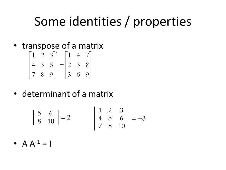how to get the transpose of a matrix