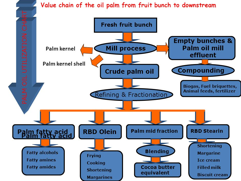 Empty bunches & Palm oil mill effluent