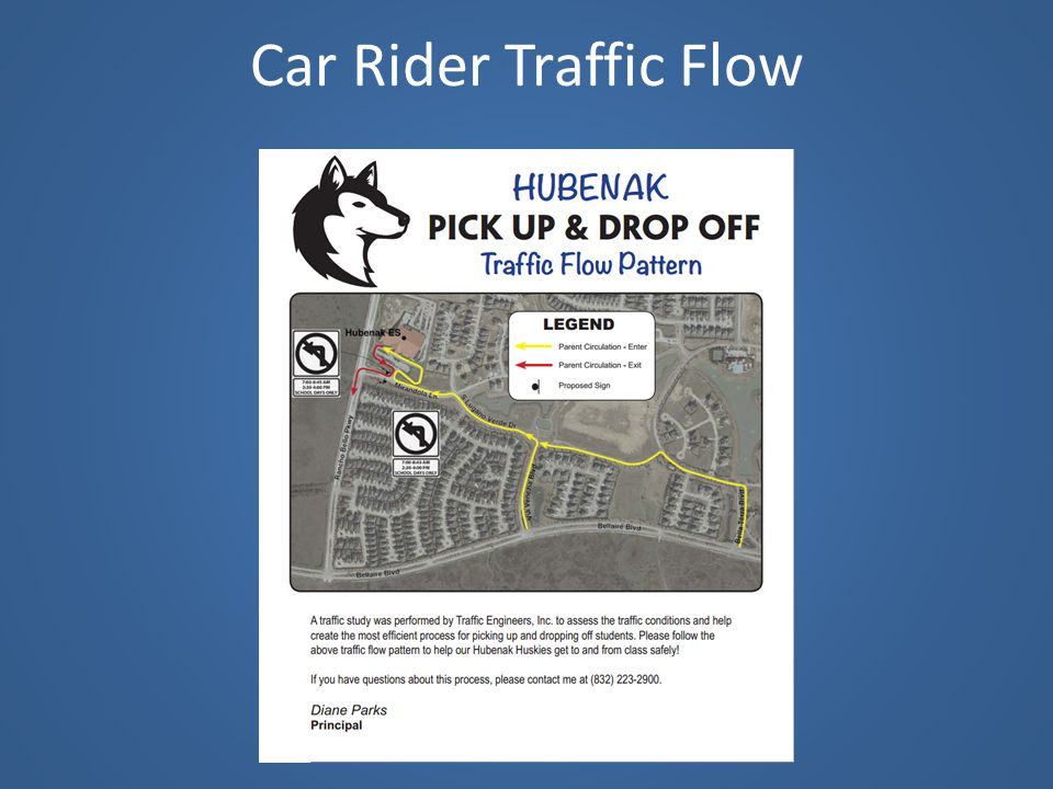 Car Rider Traffic Flow