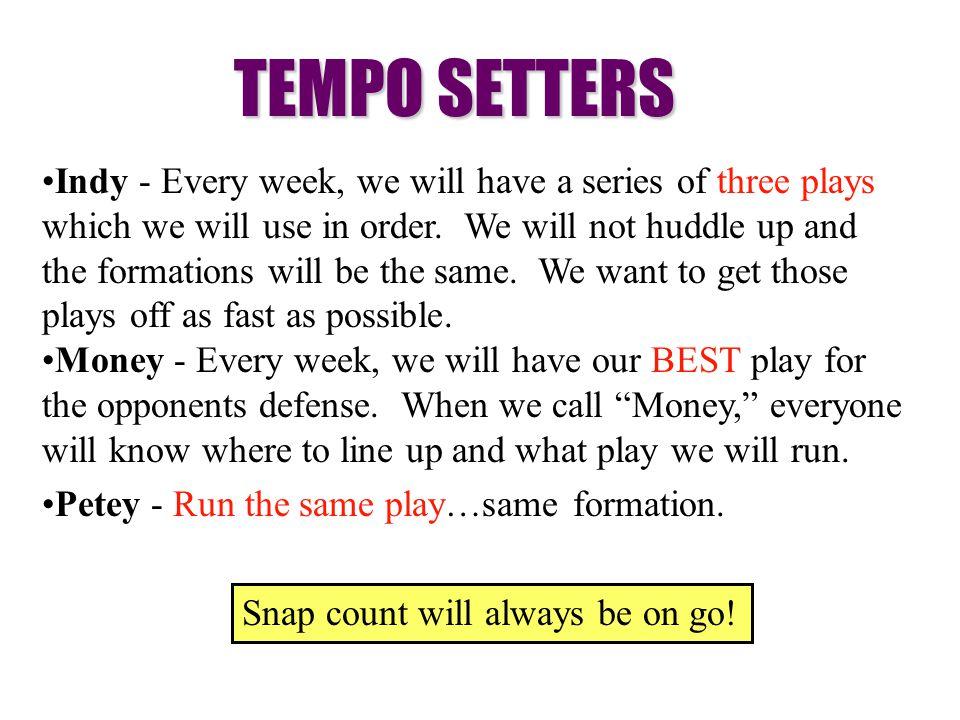 TEMPO SETTERS