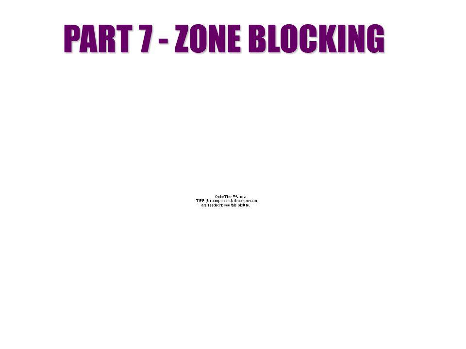 PART 7 - ZONE BLOCKING
