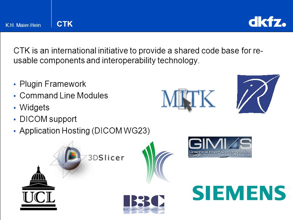 Application Hosting (DICOM WG23)