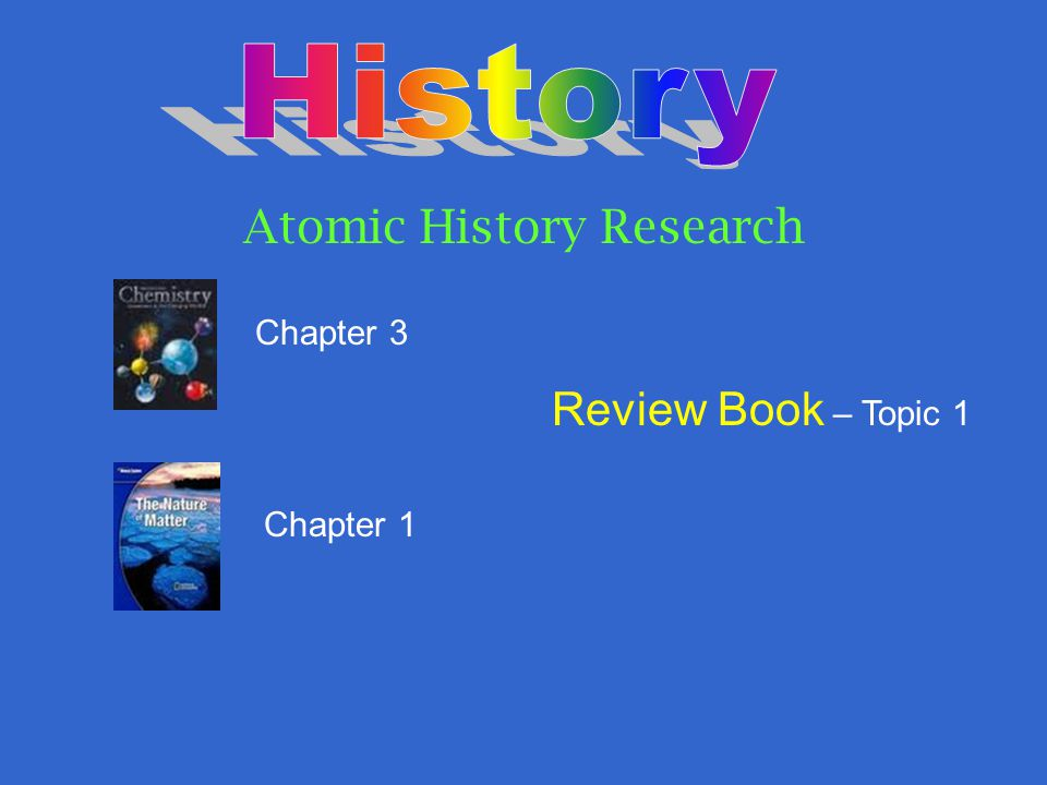 Atomic History Research
