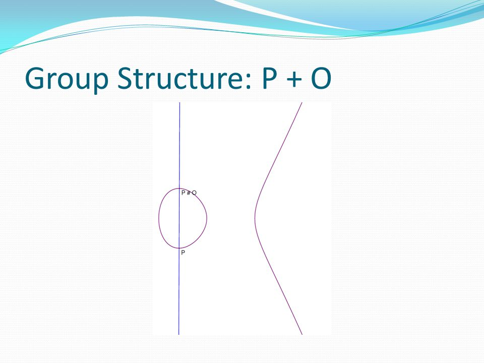 Group Structure: P + O