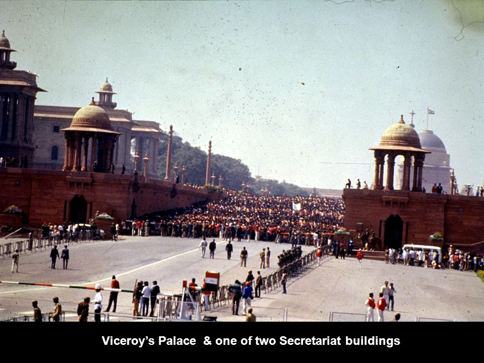 Viceroy's Palace & one of two Secretariat buildings