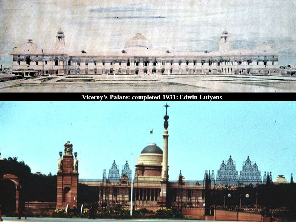 Viceroy's Palace: completed 1931: Edwin Lutyens