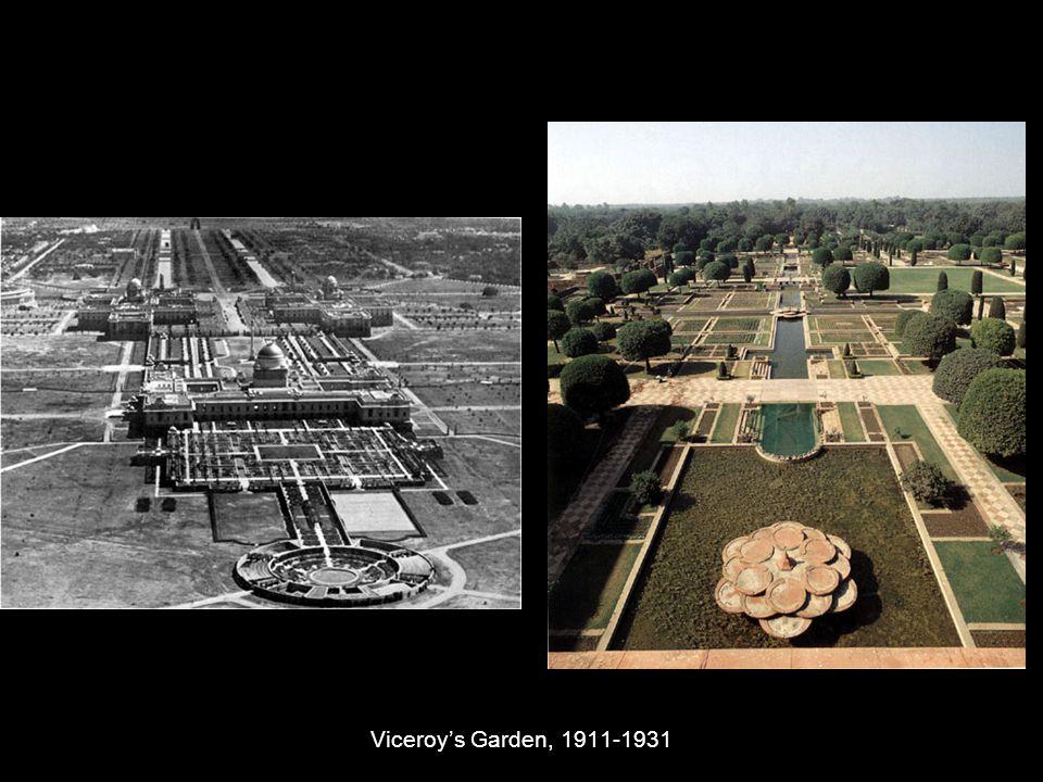 Viceroy's Garden, 1911-1931
