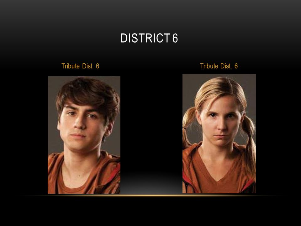 District 6 Tribute Dist. 6 Tribute Dist. 6