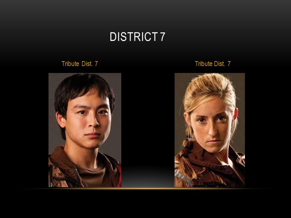 District 7 Tribute Dist. 7 Tribute Dist. 7