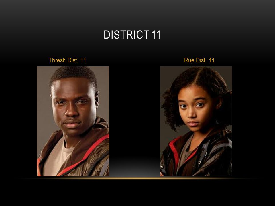 District 11 Thresh Dist. 11 Rue Dist. 11