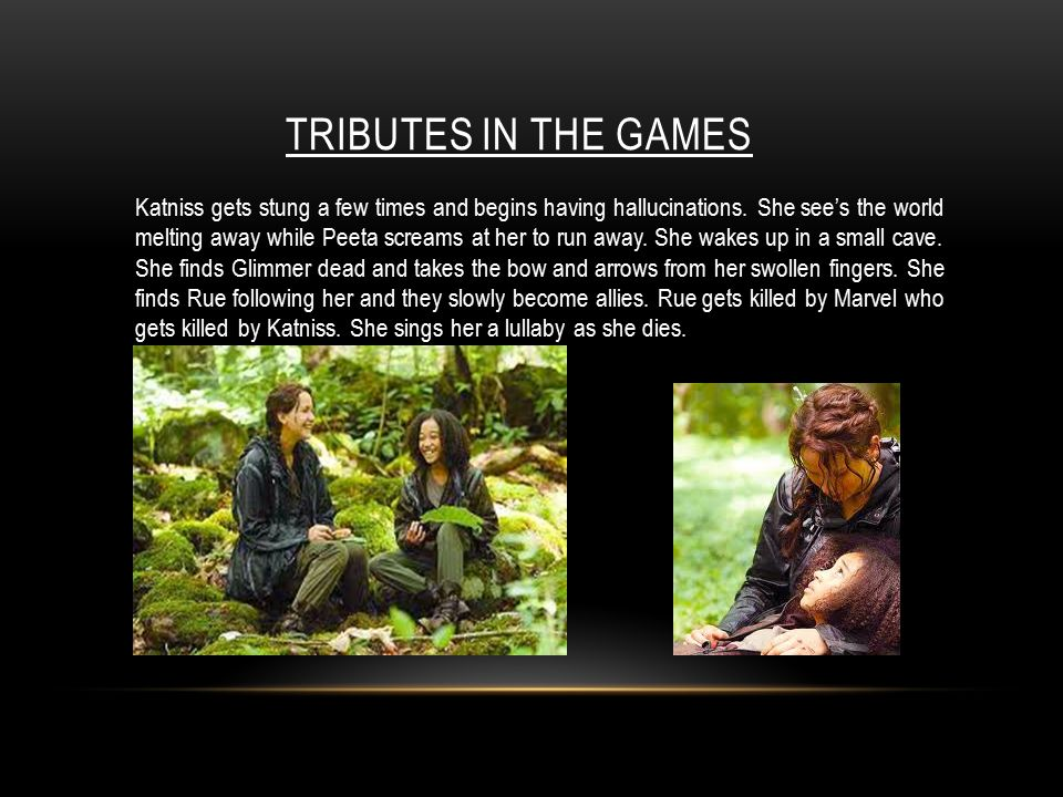 tributes in the games