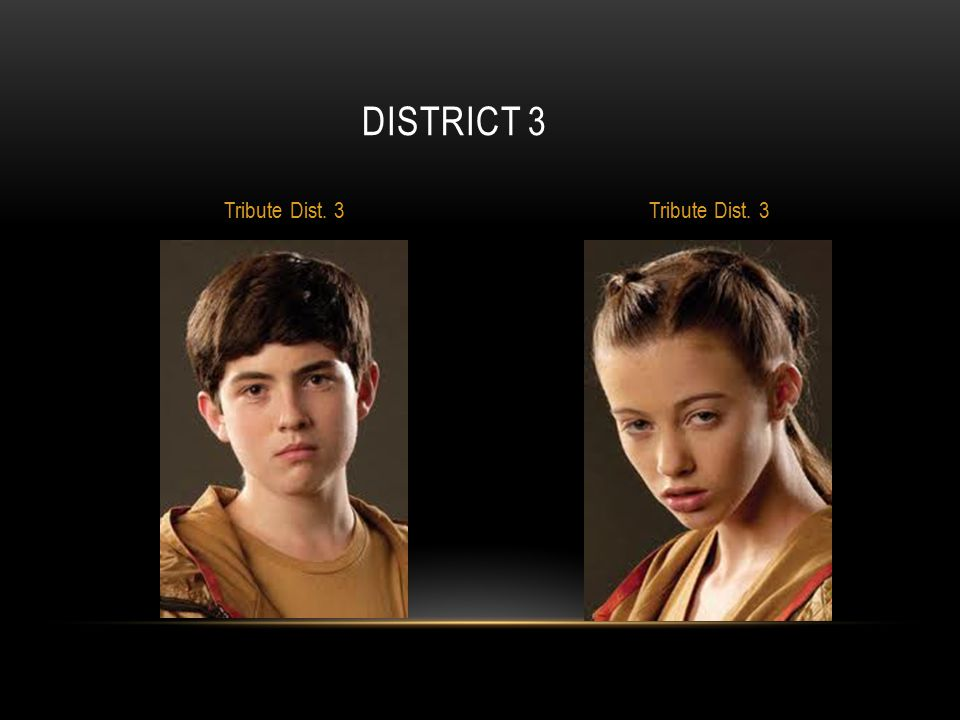 District 3 Tribute Dist. 3 Tribute Dist. 3