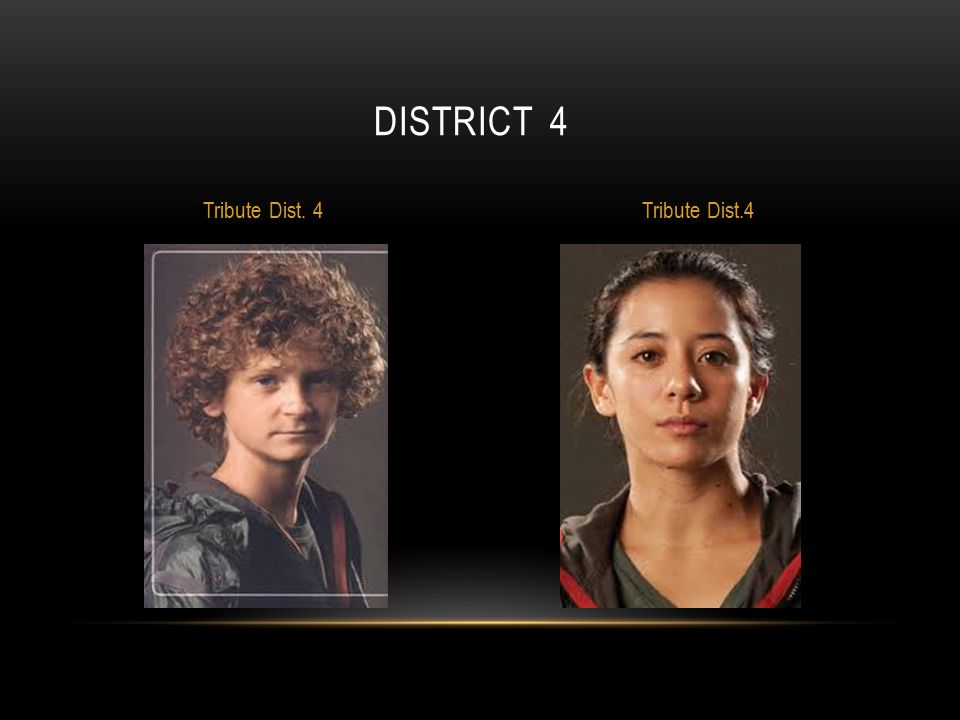district 4 Tribute Dist. 4 Tribute Dist.4