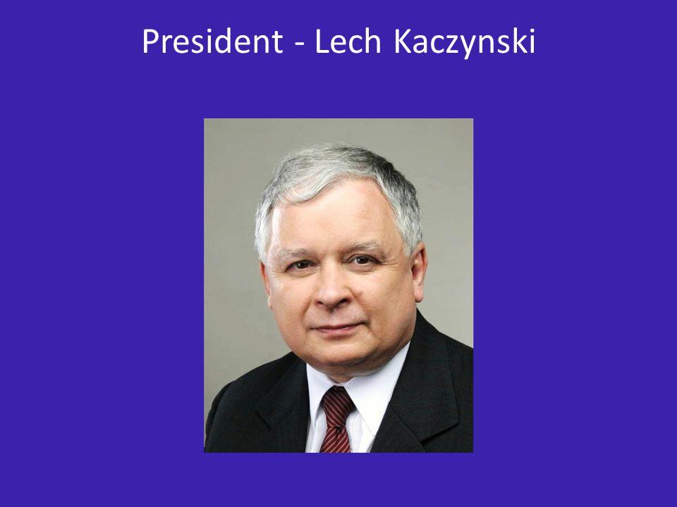 President - Lech Kaczynski