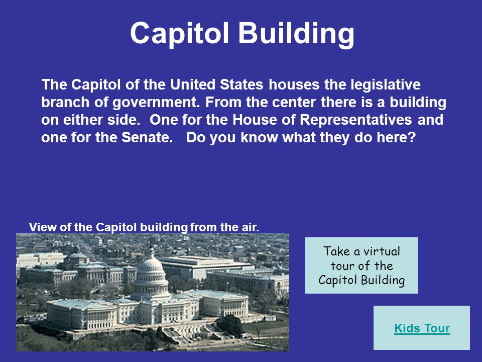 Take a virtual tour of the Capitol Building