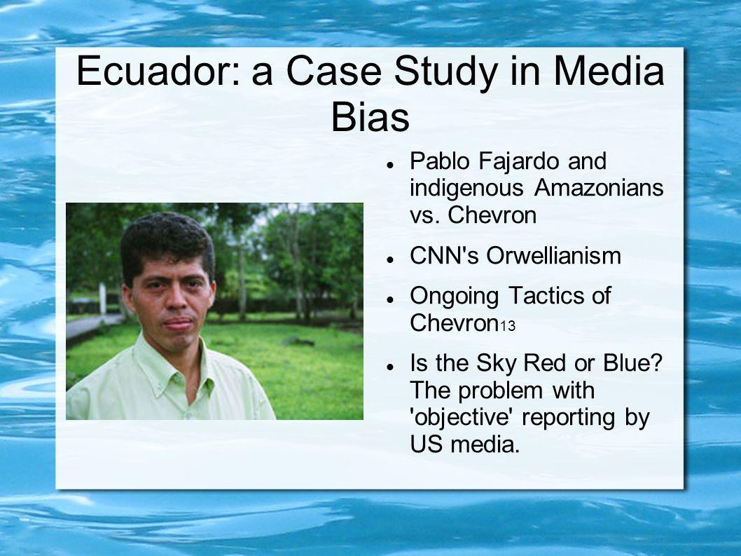 Ecuador: a Case Study in Media Bias