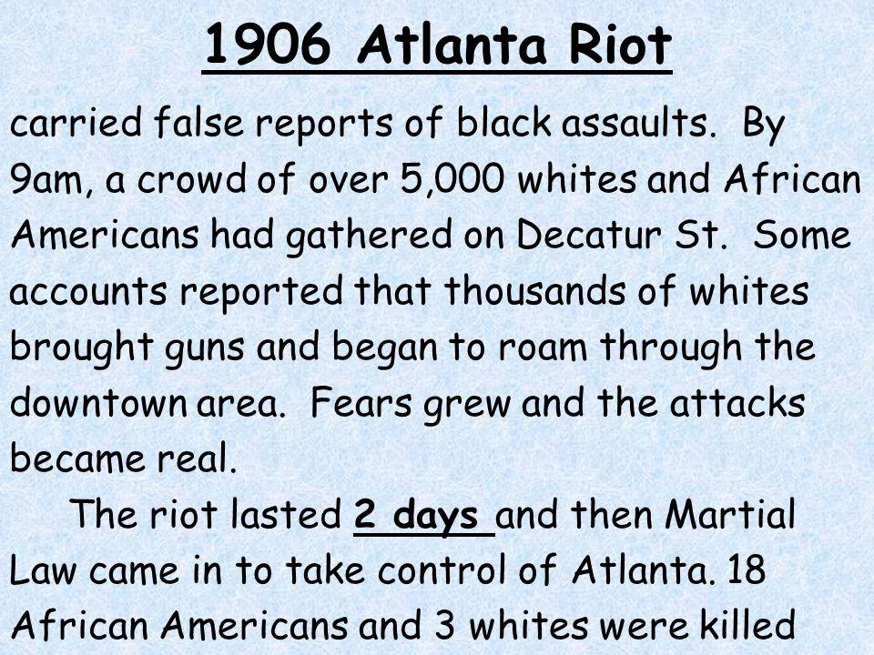 1906 Atlanta Riot