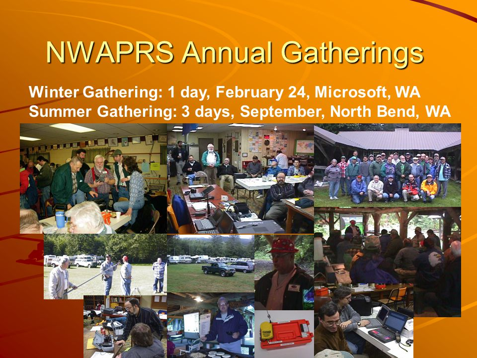 NWAPRS Annual Gatherings