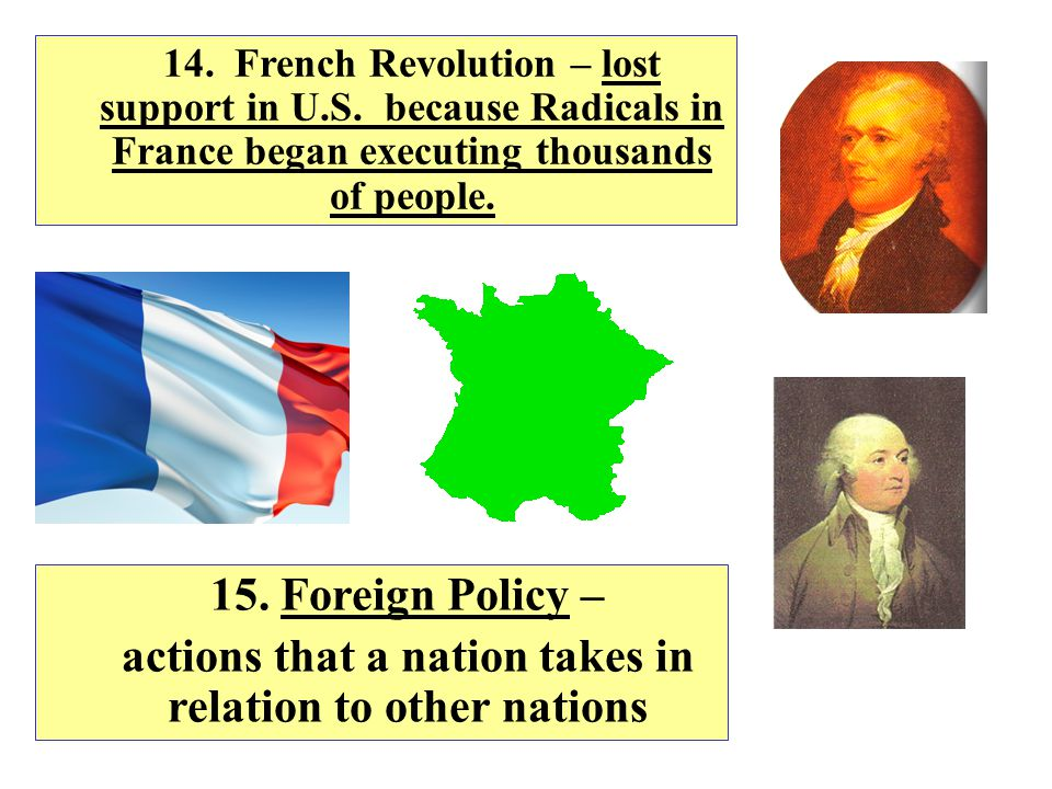 actions that a nation takes in relation to other nations
