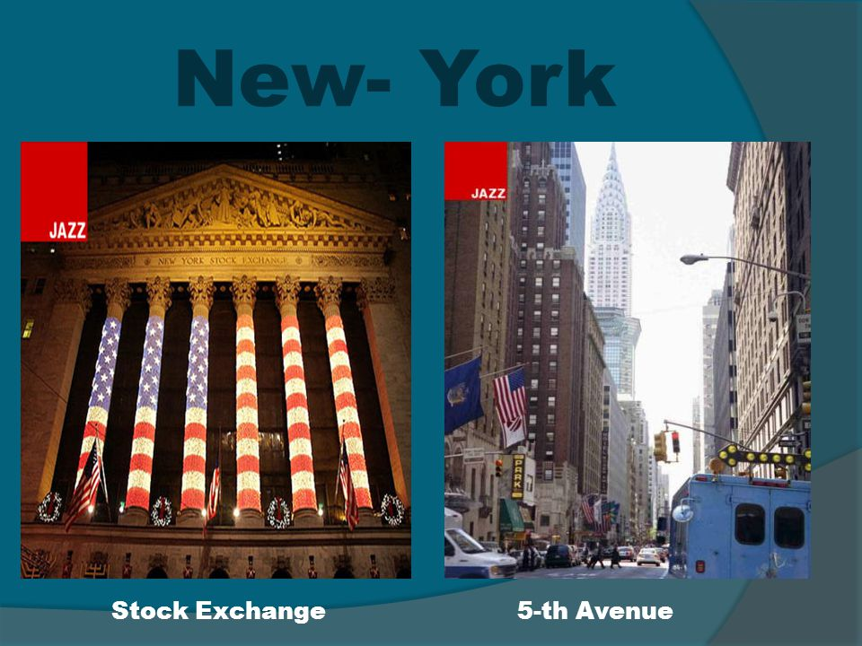 New- York Stock Exchange 5-th Avenue