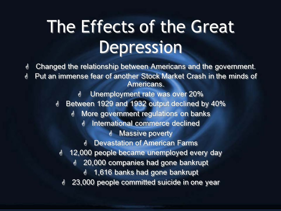 semester one research project jennifer ortega ppt  the effects of the great depression