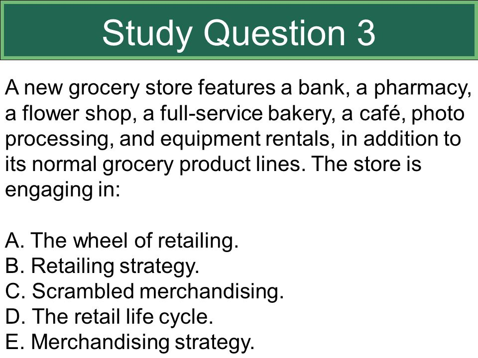 Study Question 3 This slide relates to material on pp. 359-363.