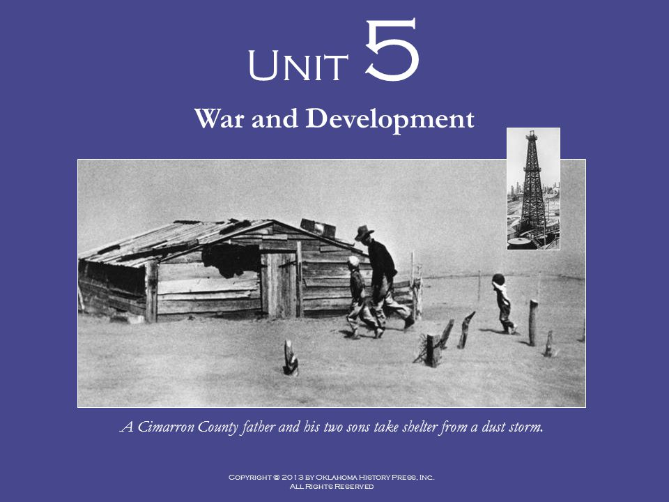 Unit 5 War and Development