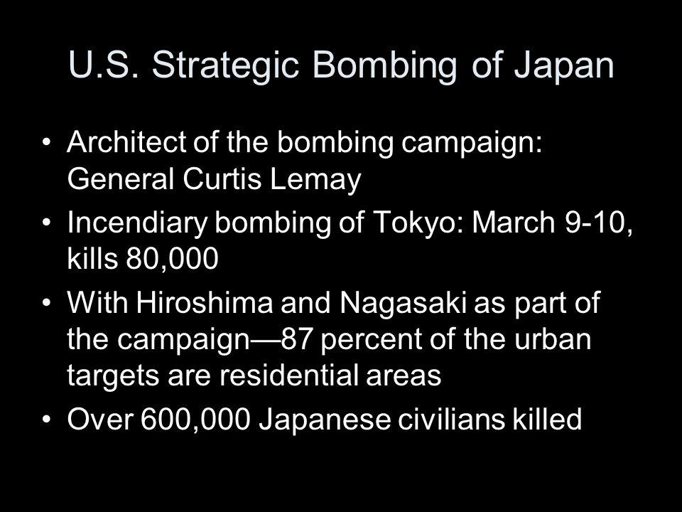 U.S. Strategic Bombing of Japan