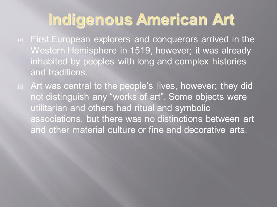 Indigenous American Art